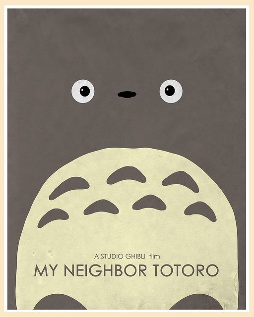 My Neighbor Totoro 1988 by Hayao MIYAZAKI, Japan