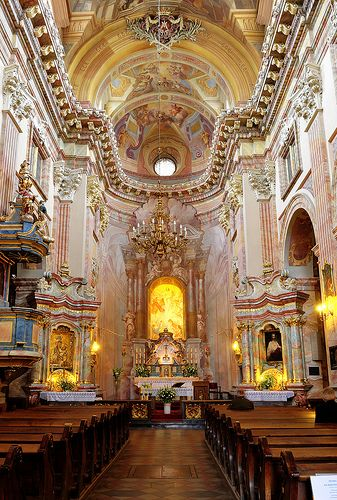 1000 images about baroque and rococo churches on for Churches of baroque period