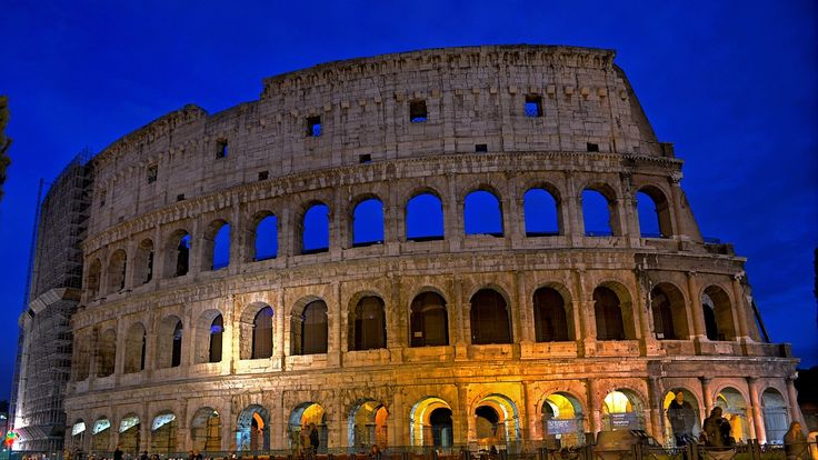 The Colosseum is an amphitheater of the Roman Empire, built in the first …