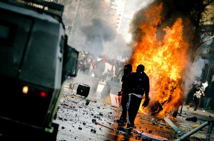 Riot-Santiago Chile