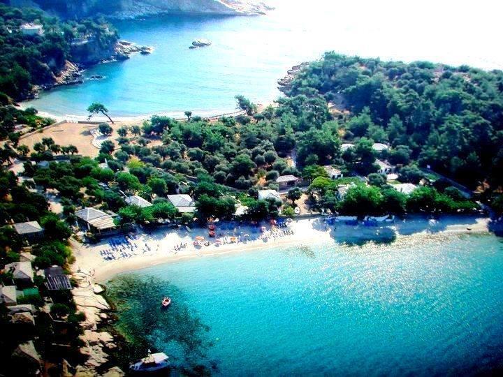 Thassos island in Macedonia North GREECE