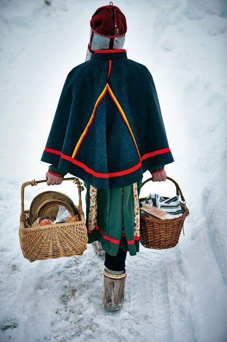 Sedan tiden i den samiska internatskolan i Gällivare har Lulu inspirerats av samisk kultur.