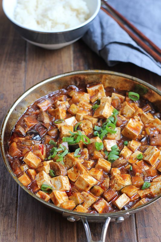 Eggplant Mapo Tofu. Make one of your favorite Chinese food dishes at home! Just follow this recipe and you can adjust the amount of spiciness as desired.
