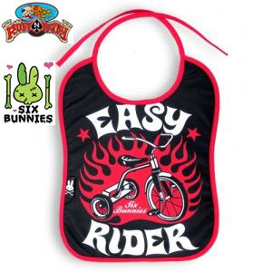 Easy Rider Bib by Six Bunnies