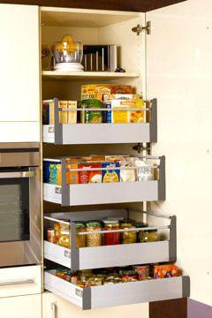 Kitchen Storage | Placard malin pour toute l'épicerie