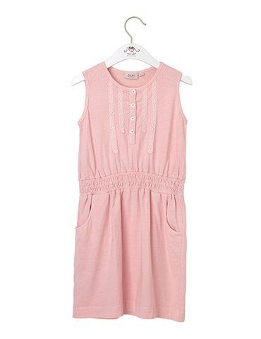 Dress in jersey - Pink