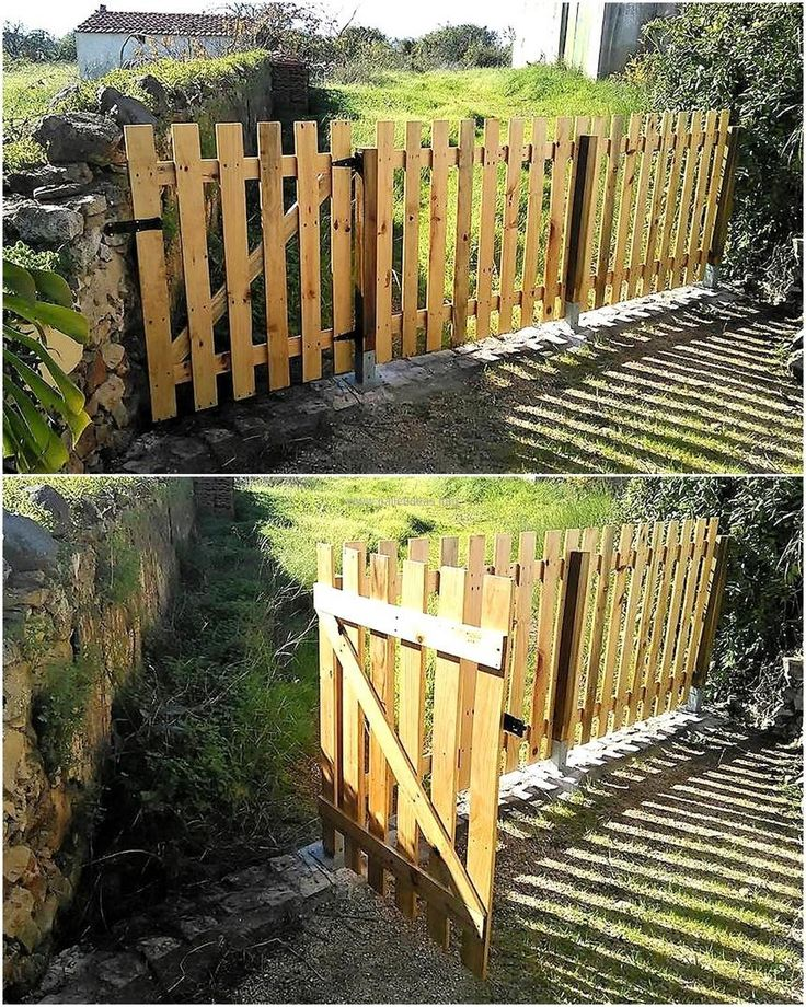 No any other material can beat the amazing look of the wooden pallets when they are used for creating the decorative items or anything else for the home just like this gate. You can also be one of those who use their skills to create items at home using the products that are of no use like the wood pallets. It is another great idea to create the gate by reshaping the wooden pallets.