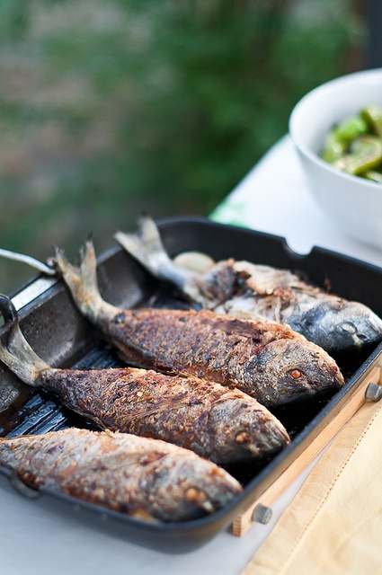 Grilled Fish by Valeria Necchio, via Flickr