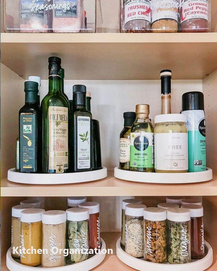 15 Creative Diy Storage And Organization Ideas For Small Kitchens 1 Kuchenorganisation Selbstgebaute Kuchenschranke Kitchen Organizing