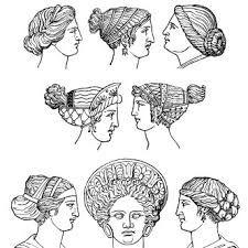 Resultado de imagen de antigua roma peinados