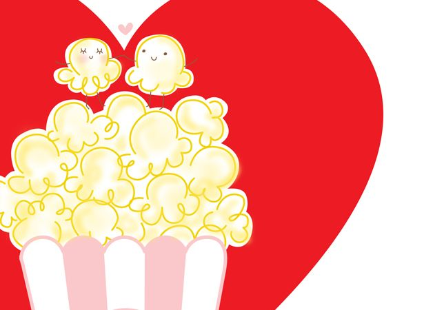 17 best popcorn love images on pinterest valentines valantine free valentines card