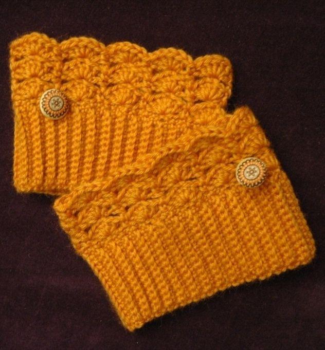 Crochet boot cuffs - PZs