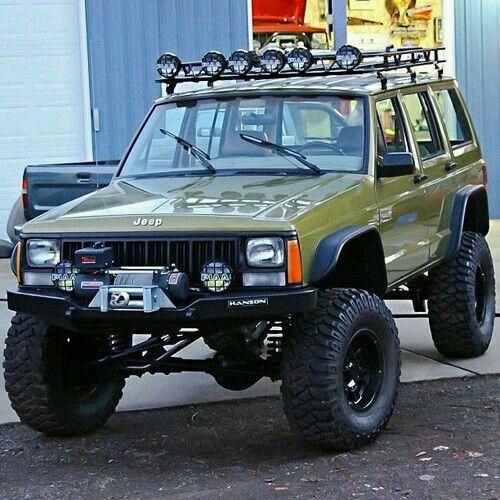 95-96 Jeep XJ  Bushwacker