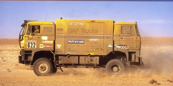 Daf Jan de Rooy Paris Dakar 1985