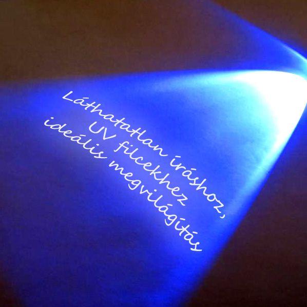 9 LED-es UV lámpa