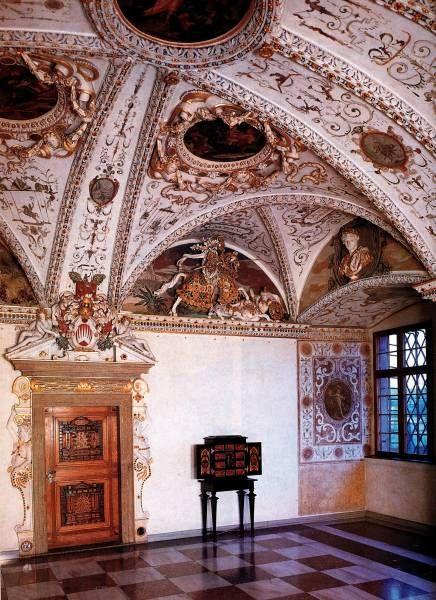 Zámek Bučovice, Císařský pokoj, 80. léta 16. století