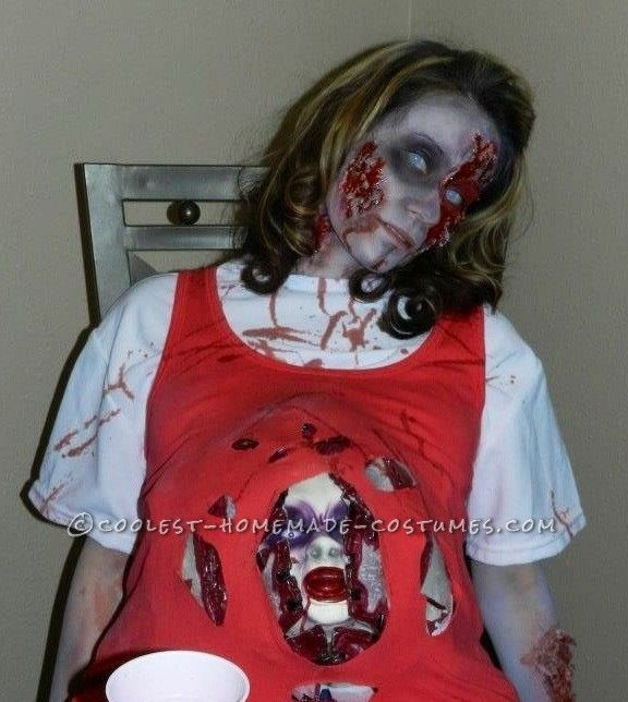 Scary Diy Halloween Decorations: 126 Best Zombie Costume Ideas Images On Pinterest