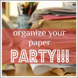 Organize your Paper Party