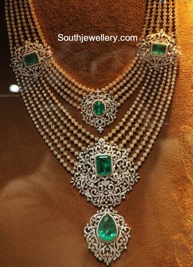 *** The best deals on gorgeous jewelry at http://jewelrydealsnow.com/?a=jewelry_deals *** Layered Diamond Haram photo