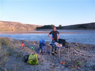 South Saskatchewan River - 5 days of kayaking.