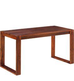 Maracay Study & Laptop Table in Honey Oak Finish by Woodsworth