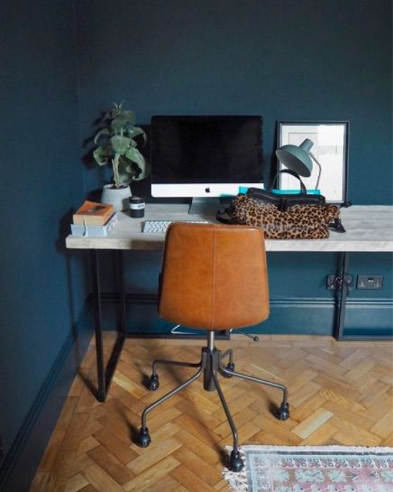 The Frugality House | Hague Blue