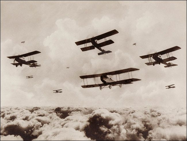 WWI, Aircraft Formation | WW1 | Pinterest | Pictures of ...
