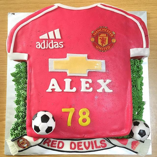 Manchester United Jersey Cake for your special someone?