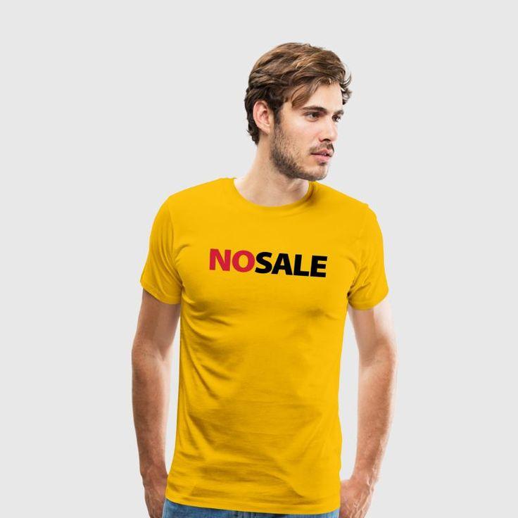 no sale - Mannen Premium T-shirt