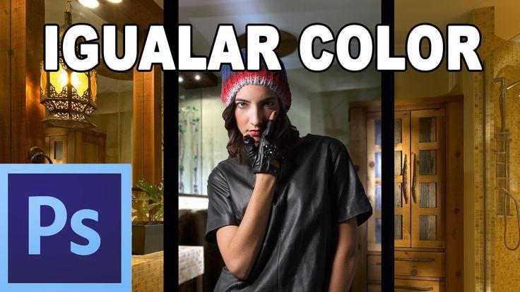 Igualar colores de dos imágenes - Tutorial Photoshop en Español