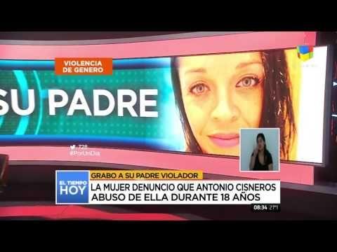 Una mujer grabó a su padre violador y lo hizo confesar en cámara