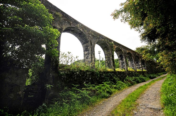Aqueduto das Furnas, Ilha São Miguel, Açores, Portugal