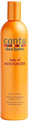 The Cantu shea oil moisturizer is made with natural ingredients to replace the vital oil in your hair, leaving it stronger and healthier, and with a natural shine. It has special ingredients to protec
