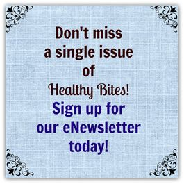Wolfville Nutrition Consulting eNewsletter poster. Sign up today! - www.wolfvillenutrition.ca