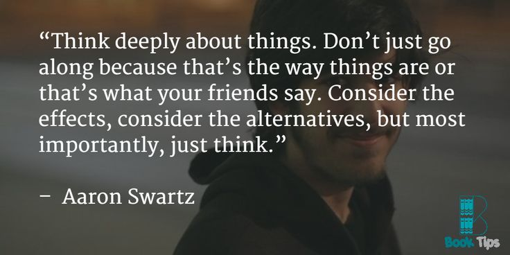 Don't tell me you don't remember Aaron Swartz?! Read the book came out after his Death . http://amzn.to/1PXvWx3