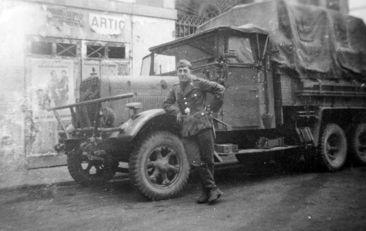 Henschel 33 Luftwaffe Truck France 1940