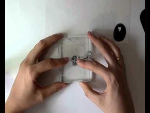 Cómo hacer adornos para scrapbooking con plástico retráctil y los sellos de YoY Scrap.