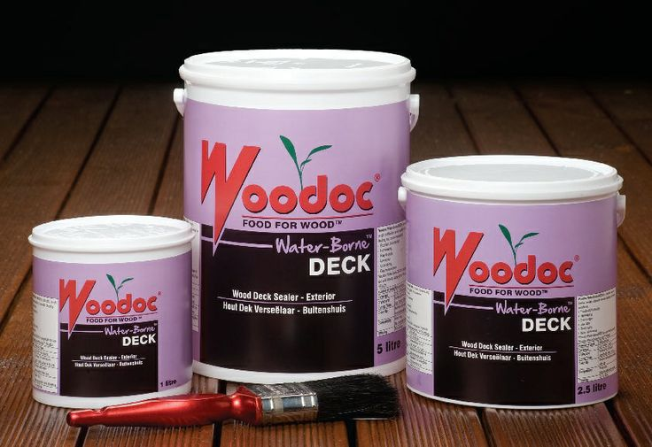 Woodoc Waterbourne Deck A water-borne exterior sealer, especially developed for application to all exterior wooden decks and -staircases, as well as other exterior wood. - See more at: http://woodoc.com/categories/2/products/27#sthash.wEJsJABK.dpuf  #woodoc #exterior #water #borne #new #product #sealer #deck #outdoor #environmentally #friendly #green #tinted #clear