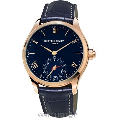 Mens Frederique Constant Horological Smartwatch Bluetooth Watch FC-285N5B4