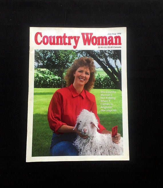Country Woman Magazine  July/August June 1994 Editition