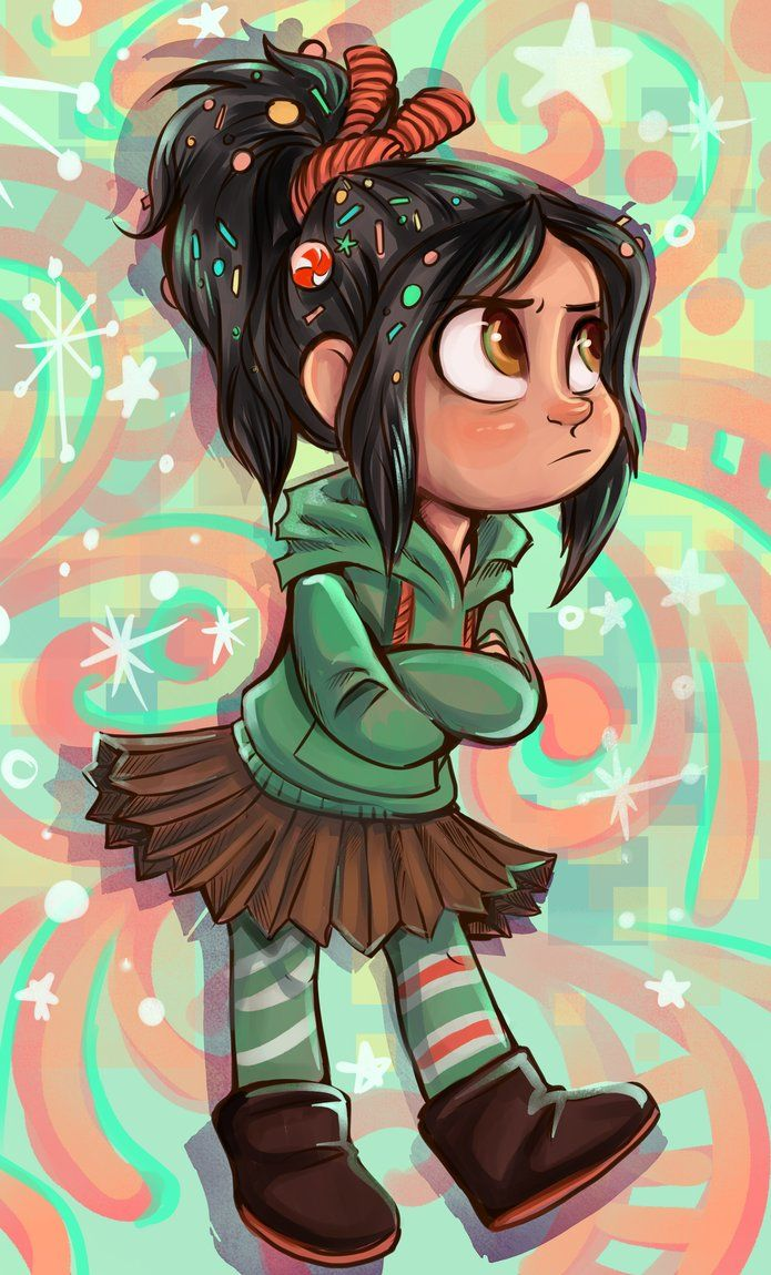 Vanellope from Wreck-It-Ralph