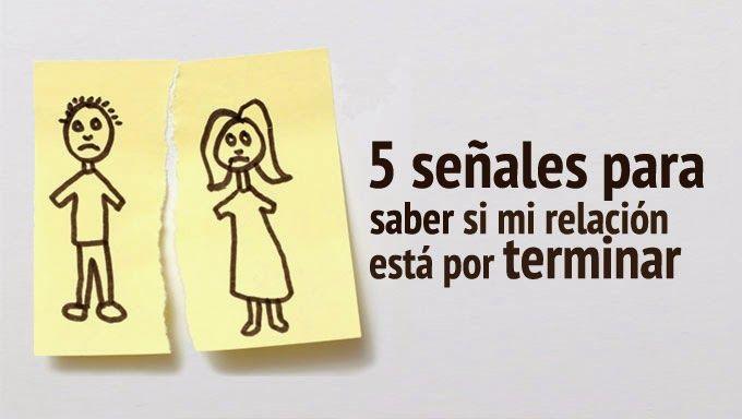 5 señales para saber si mi relación está por terminar  Read more: http://www.tueresmivida.net/search/label/Temas%20de%20Pareja?updated-max=2014-06-04T15:11:00-07:00&max-results=20#ixzz37VJONWKi