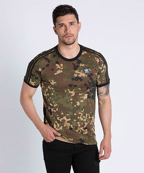 adidas AOP Camouflage T-Shirt