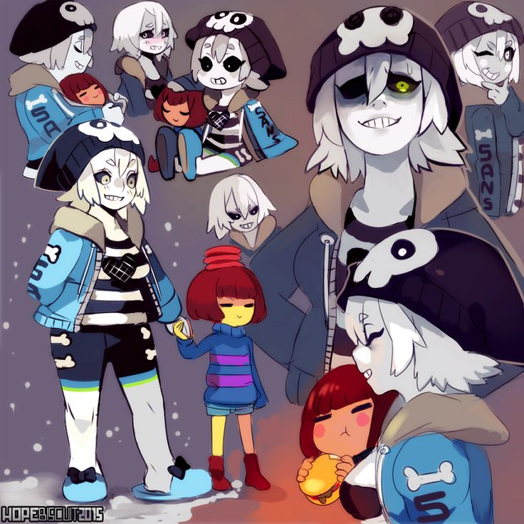 Undertale Gijinkas 1/3: Papyrus and Sans (rule63))   Characters to ...