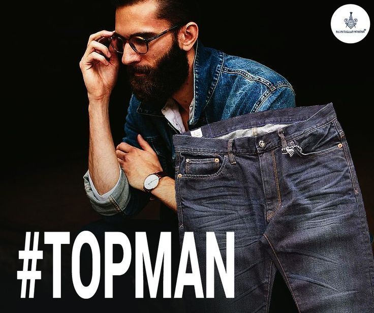 Do you think jeans is the parameter of checking how macho you are? Try the Blue Line Regular. #Blueline #Denim #Topman