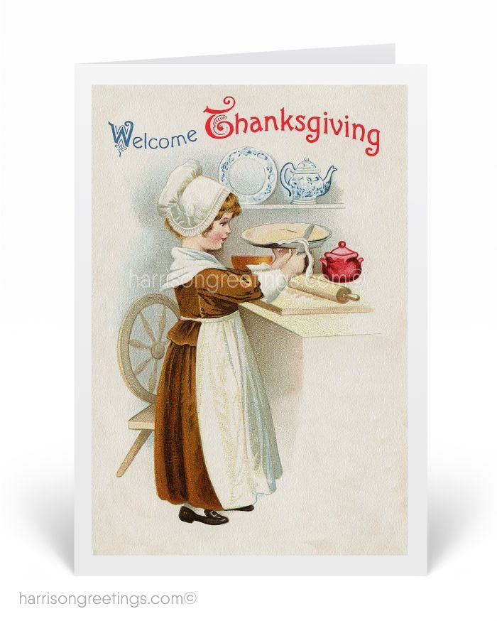 1920s Vintage Thanksgiving Greeting Cards, antique Thanksgiving greetings, Victorian style Thanksgiving, Old fashion Thanksgiving greetings