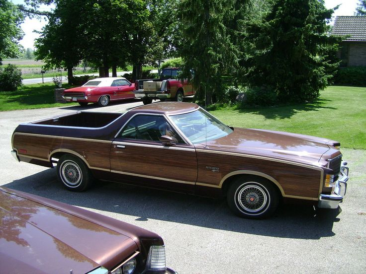 1978 ford ranchero squire brougham i have to imagine this is one rare ford when america needs a better idea ford puts it on wheels pinterest ford