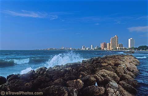 Bocagrande. Cartagena, Colombia