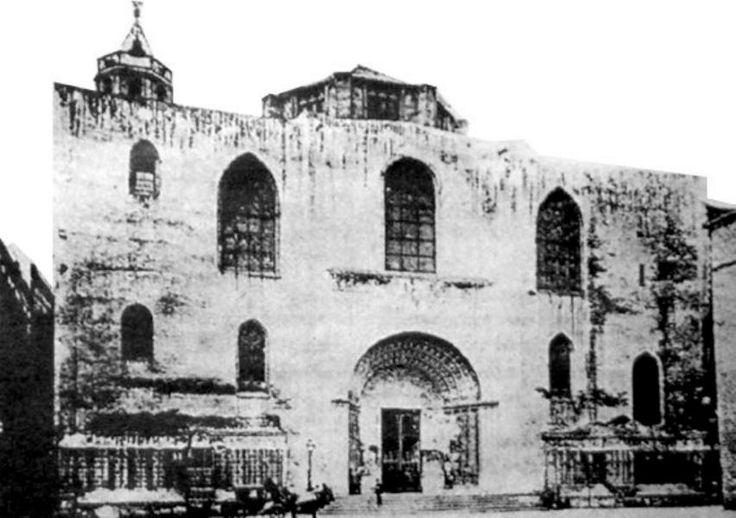 Catedral de Barcelona en 1880 aprox.
