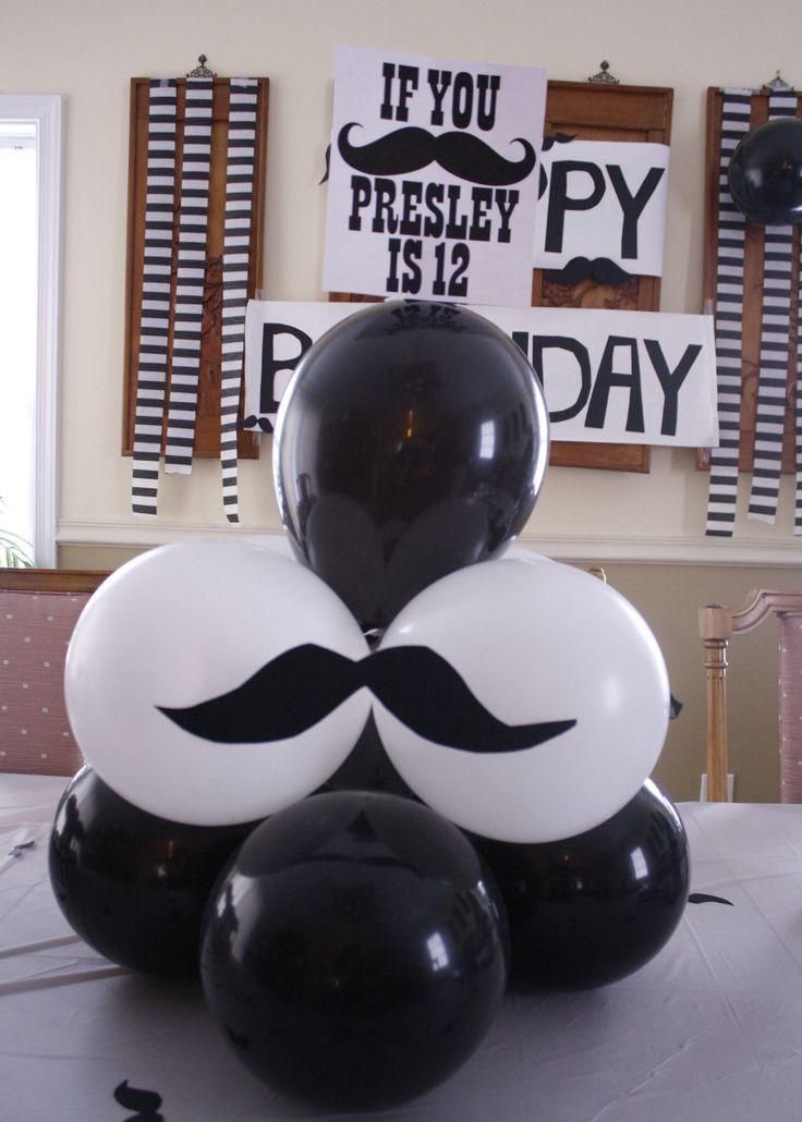 Best 25 Mustache Party Centerpieces Ideas On Pinterest